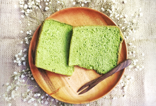Chiffon Cakes Pandan and Earl Grey by bakeforgood