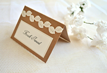 Fall wedding stationary  by Jasmine wedding prints