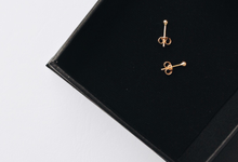 18ct Fine Gold 3D Dots Earrings [Custom Made] by AEROCULATA
