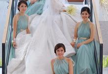 Wedding make up by Marcella Widita Make Up Artist Jakarta