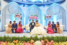 K-Link Tower (Kenneth & Destania Wedding) by The Red Carpet Entertainment