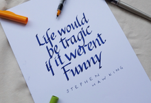 Loveable quotes by Novitawjya Calligraphy
