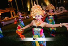 Balinese Dance for Dannielle & Kristian Wedding by BALI LIVE ENTERTAINMENT