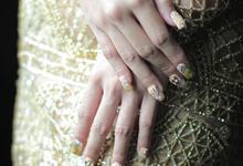 AnggaMalva Wedding by Vinna Christina Wedding Nails
