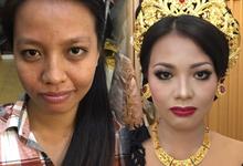 Prewedd adat bali modifikasi Novi & kadek by YURI Beautify Makeup