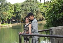 Prenup Shoot with Ms. Princess Bernardo by Sai Montes Makeup Artistry