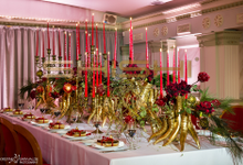Table decorations by SHISHI Home of Beauty