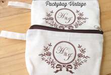 Henry & Jennifer Wedding  by Packy Bag Vintage