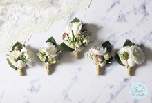 CUSTOM BOUTONNIERES vol 02 by The Bride and Butter