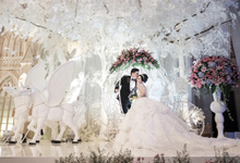 Fairytale wedding of Ricky and Yesika by Vidi Daniel Makeup Artist managed by Andreas Zhu