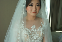 Wedding makeup for Meli by Lenny Wijaya Professional Makeup Artist