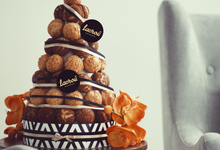 Choux Tower by Lacrou Patisserie