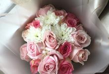 Pink Velvet Bouquet  by Levian Florisen