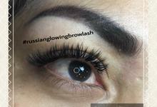 Russian lashes by Glowingbylyn