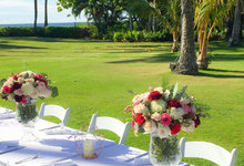 Wedding Floral Design by Bella Amour Events Hawaii