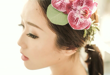 bramantawijaya x meicamakeup x labloomflorist by La Bloom Florist
