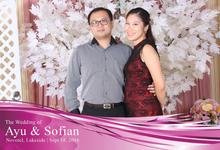 Photo booth Ayu & Sofiam by RTDI Soho Photography