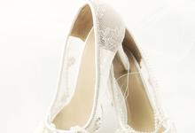 Embellishment on shoes, by CAVA PRIVÉ