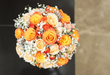 Jessica's Wedding by glasshouse FLORIST