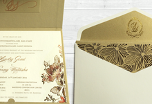Hendry Sanny Wedding Invitation by Blue Label Invitation