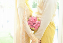 SOLEMNIZATION DRESS by wedding by zamin zawani