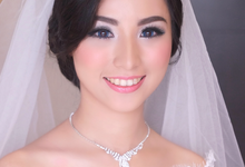 Ririe The Bride by Virry Christiana - Makeup Artist Jakarta
