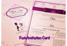 Singleboard FC gambar by RATU INVITATION CARD
