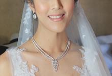 Wedding of Ms. Suphanee Ong by Fikri Halim Makeup Artist