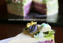 Buttercream cakes & desserts  by Cookie Decorating in Singapore