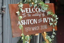 The Wedding of Ashton & Ivy by Country Victoria