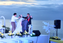 The Cliff Ocean Wedding P & R by Bali Hawila Wedding Organizer