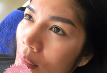 Before after 6d eyebrow by Glowingbylyn