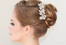 Bridal Headpiece by BRIDE GLAMOR LLC