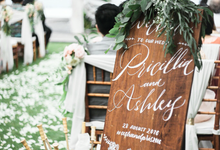 The Wedding of Priscillia and Ashley by Pi Calligraphy