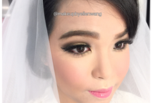 Make up for beautiful bride ms. Angelina by Makeupbyellenwang