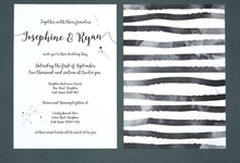 Chic template design by Vicky Perry Wedding Stationery