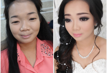 Makeup transformation by Patricia Bridal