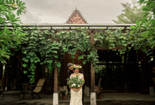 Tropical forrest wedding in Canggu by Bali Diva Event Management