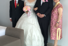Jeff and Gracie tie the knot by Serenity wedding organizer