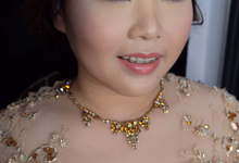 Engagement makeup  by Stella Nadia MUA