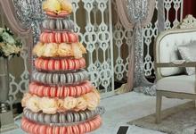 Macaron Tower by Macarons by Farha