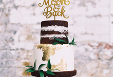 Customize Cake Topper by Bluebelle Invitations