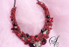 Necklace by Sequeen Couture