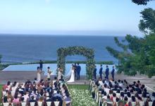 Pricillia and Ashley Wedding by Amara Universe