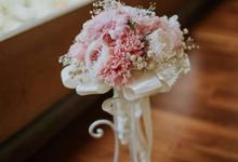 Bridal Bouquet & Boutonnière  by Petal Co.