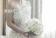 Dania Soedarjo & Ponti Pagoo Wedding Day by Yogie Pratama