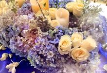 NC flower arrangement by Bali Hawila Wedding Organizer