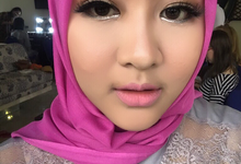 Brides and bridesmaid eyelash  by Envie beauty.id