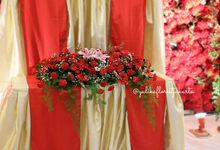 Holy Matrimony - Buddhist ceremony by Yulika Florist & Decor