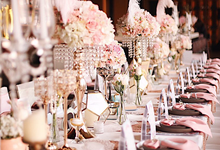 Romantic Parisian Table Setting by Millevoile